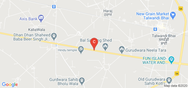Ferozepur College of Engineering and Technology, Moga Road, Kartar Nagar, Moga, Punjab, India