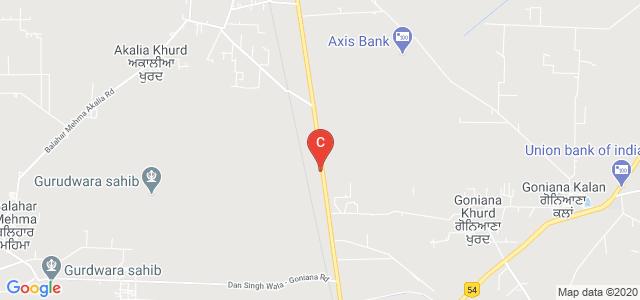 Aklia College of Engineering and Management Technology, Goniana Jaitu Rd, Bathinda, Punjab, India