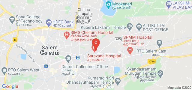 Thillai Nagar, Salem, Tamil Nadu 636001, India