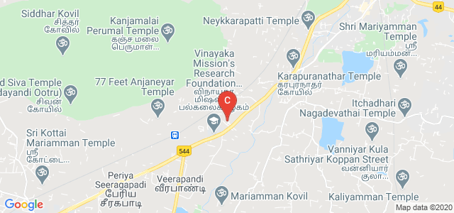 VSA School of Engineering & School of Management, Ariyanur, Salem, Tamil Nadu, India