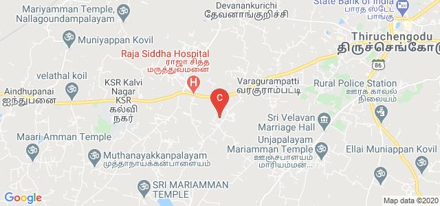 VIDYAA VIKAS COLLEGE OF ENGINEERING AND TECHNOLOGY, Tiruchengode, Tamil Nadu, India