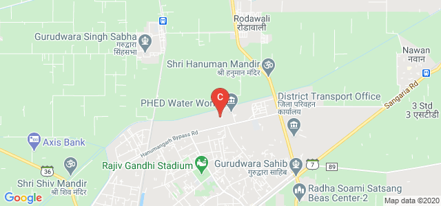 Government Polytechnic College Hanumangarh, Sangaria Rd, Industrial Area, Hanumangarh, Rajasthan, India