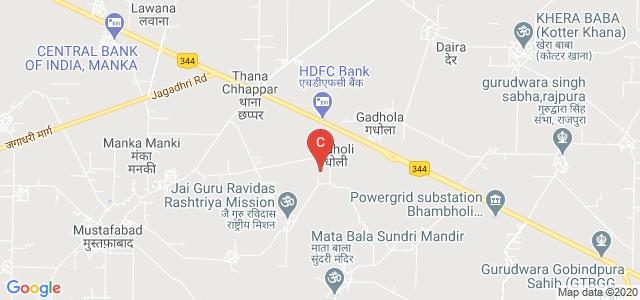 Yamuna Institute of Engineering & Technology, Post Office, Gadhola, Yamuna Nagar, Haryana, India
