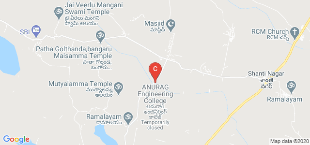ANURAG Engineering College, Anantha Giri, Telangana, India