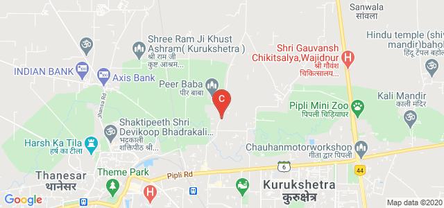 Shri Krishan Institute of Engineering & Technology, Saraswati Nagar, Kurukshetra, Haryana, India