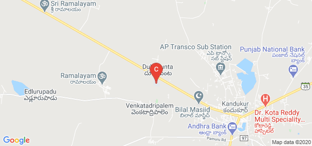 Prakasam Engineering College, Kanigiri Road, Kandukur, Prakasam, Andhra Pradesh, India