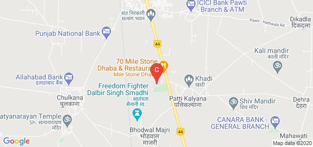 P.I.E.T - Panipat Institute of Engineering & Technology, Grand Trunk Road, Samalkha, Haryana, India