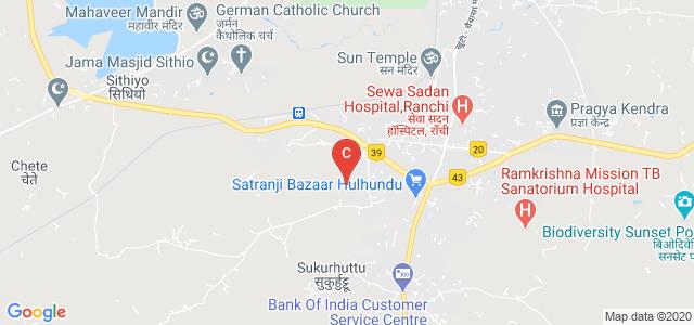 Centre For Bioinformatics, Old, Hulhundu, Ranchi, Jharkhand, India