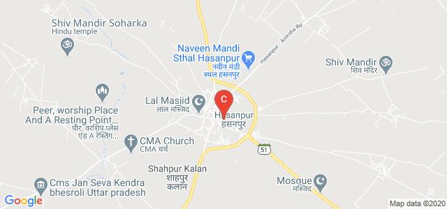 SLJ Degree College, Tehsil, Hasanpur, Amroha, Uttar Pradesh, India