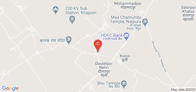 Smt. Sudesh Devi Memorial College of Education, Daulatpur Nehri - Mahender Nagar Road, Hasanpur, Amroha, Uttar Pradesh, India
