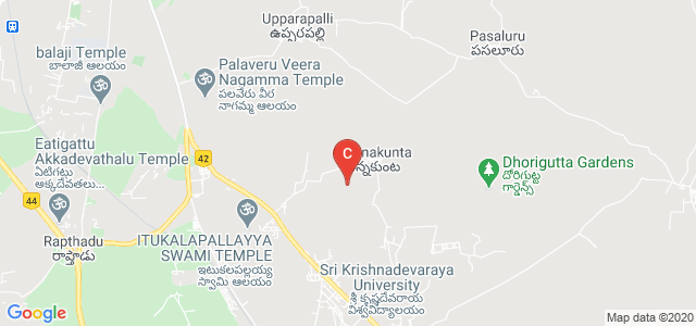 SRI KRISHNADEVARAYA UNIVERSITY COLLEGE OF ENGINEERING AND TECHNOLOGY A-BLOCK, Anantapur, Andhra Pradesh, India