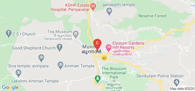 College Of Engineering Munnar, Kannan Devan Hills, Kerala, India