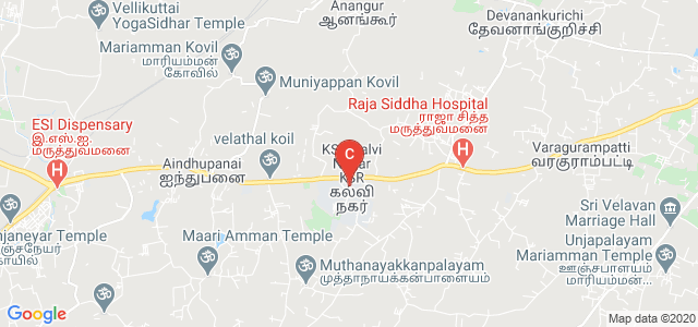 KSR Institute Road, KSR Kalvi Nagar, Tamil Nadu, India