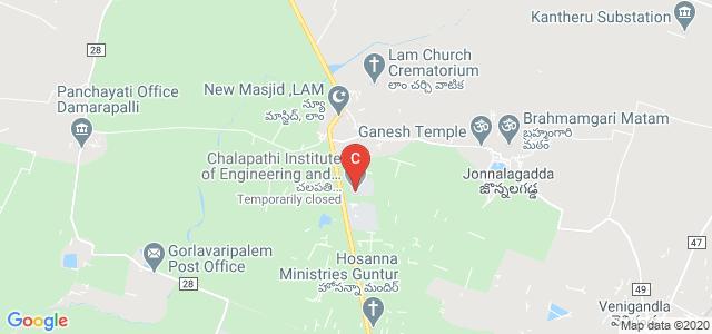 Chalapathi Institute of Engineering and Technology, Nagar, Guntur, Andhra Pradesh, India
