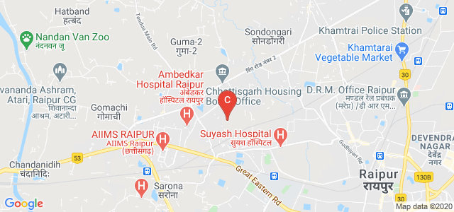 Central College Of Engineering & Management, Phase-3, Kabir Nagar, Raipur, Chhattisgarh, India