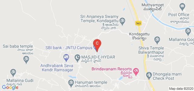 JNTUH College of Engineering Jagtial, Jagtial, Karimnagar, Telangana, India