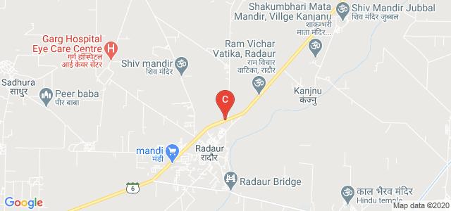 Jai Parkash Mukand Lal Innovative Engineering & Technology Institute(JMIETI) Radaur, Radaur Road, Chhota Bas, Haryana, India