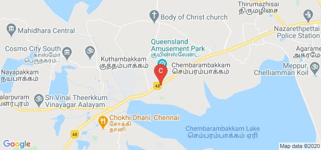 DMI College of Engineering, Chennai, Tamil Nadu, India