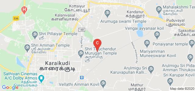 CSIR-Central ElectroChemical Research Institute, College Road, Karaikudi, Tamil Nadu, India