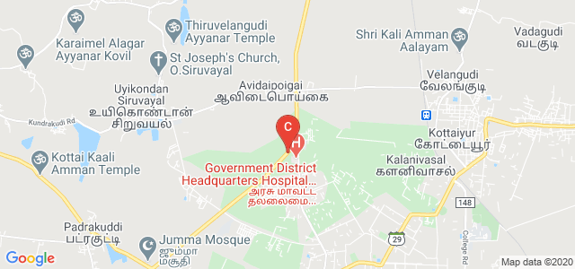 Chendhuran College of Engineering And Technology, NH 226, Ennapatti, Pudukkottai, Tamil Nadu, India