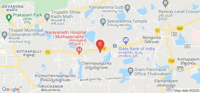 Chadalawada Venkata Subbaiah College of Engineering, Tirupati, Andhra Pradesh, India