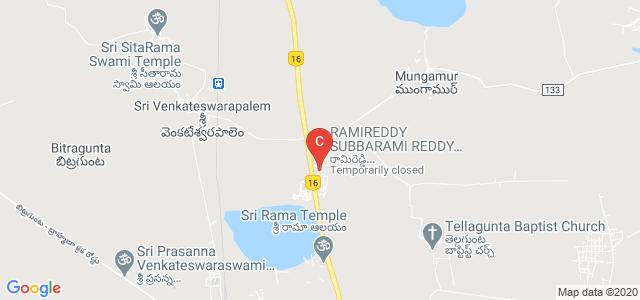 RAMIREDDY SUBBARAMI REDDY ENGINEERING COLLEGE, Kadanuthala, Andhra Pradesh, India