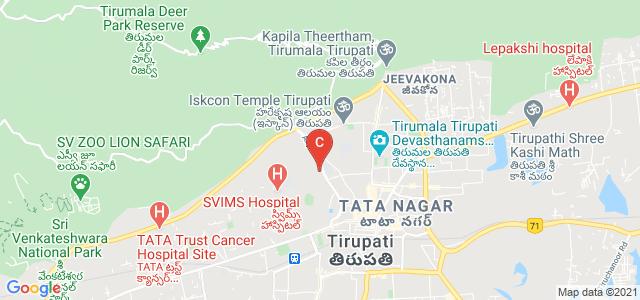 Sri Venkateswara Institute of Medical Sciences (SVIMS), Alipiri Road, Sri Padmavati Mahila Visvavidyalayam, Tirupati, Andhra Pradesh, India