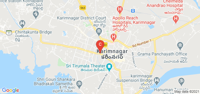 Mukarampura Circle, Mukarampura, Karimnagar, Telangana, India