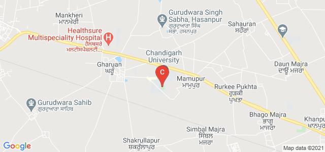 Chandigarh University, Ludhiana - Chandigarh State Highway, Punjab, India
