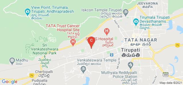 Sri Venkateswara University Road, Prakasam Nagar Colony, Sri Padmavati Mahila Visvavidyalayam, Tirupati, Andhra Pradesh, India
