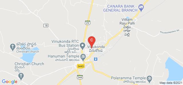 Vinukonda, Guntur, Andhra Pradesh 522647, India