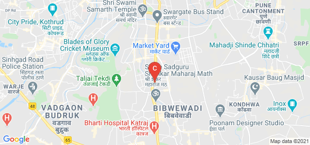 Vishal VRD, Bharthi vidyapeth, Bharati Vidyapeeth Campus, Dhankawadi, Pune, Maharashtra, India