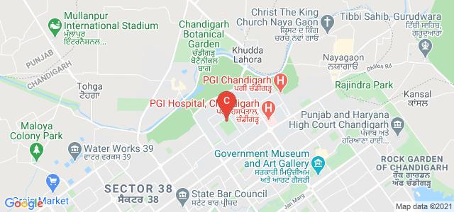 University Business School, Madhya Marg, Panjab University, Sector 14, Chandigarh, India