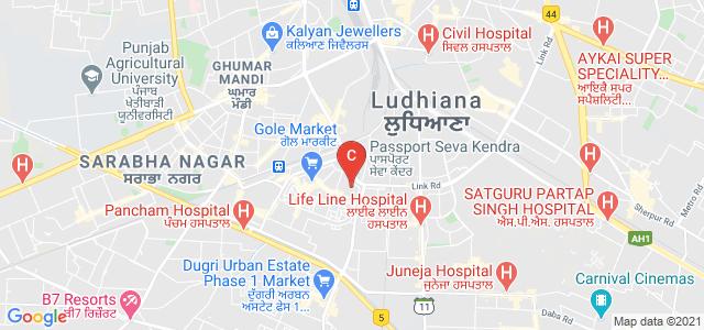GGNIMT, Ghumar Mandi Road, Mall Enclave, Civil Lines, Ludhiana, Punjab, India