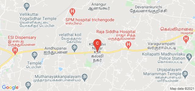 K.S.Rangasamy College of Technology, Tiruchengode, Tamil Nadu, India