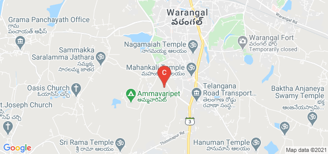 Ganapathy College Of Engineering, Hunter Rd, Near Naidu Petrol Pump, Rangashaipet, Warangal, Telangana, India
