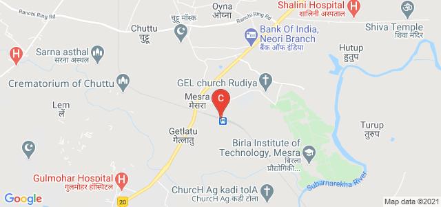 Birla Institute of Technology, Mesra, Ranchi, Jharkhand, India