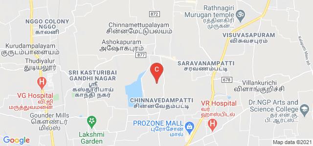 CMS College of Science and Commerce, Athipalayam Road, Sreevatsa Global Village, Saravanampatty, Coimbatore, Tamil Nadu, India