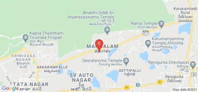 Indian Institute of Science Education and Research, Tirupati, Mangalam, Tirupati, Andhra Pradesh, India