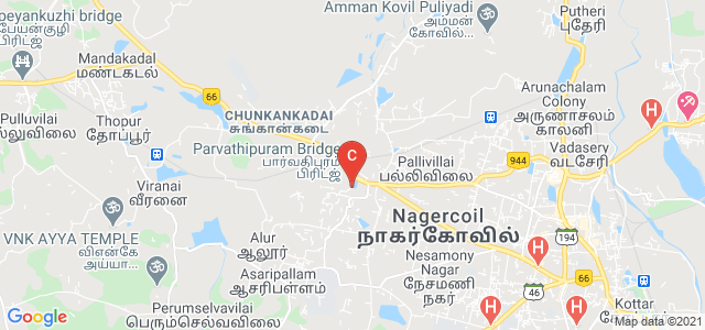 Scott Christian College, Panvel - Kochi - Kanyakumari Highway, Pleasant Nagar, Nagercoil, Tamil Nadu, India