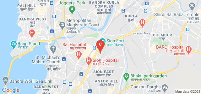 SIES College of Commerce and Economics, TV Chidambaran Marg, Near Champaklal Industries, Air Force Quarters, Jay BharatMata Nagar, Sion East, Sion, Mumbai, Maharashtra, India