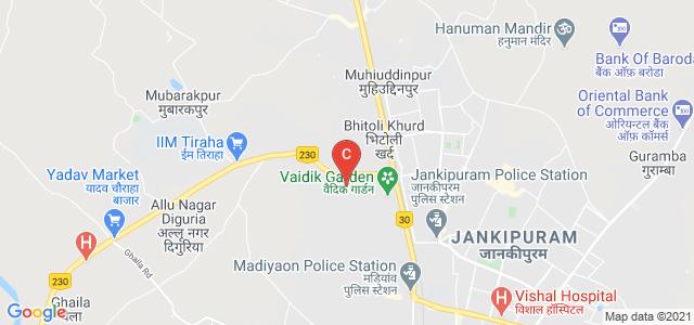 Maharishi University of Information Technology., IIM Road, Near Maharishi Vidya Mandir, Diguria, Aziz Nagar, Lucknow, Uttar Pradesh, India