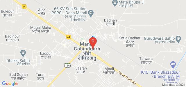 Sector-4-B, Block C, Mandi Gobindgarh, Punjab 147301, India