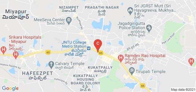 JNTU Bus Stop, National Highway 9, Kukatpally Housing Board Colony, Hyderabad, Telangana, India