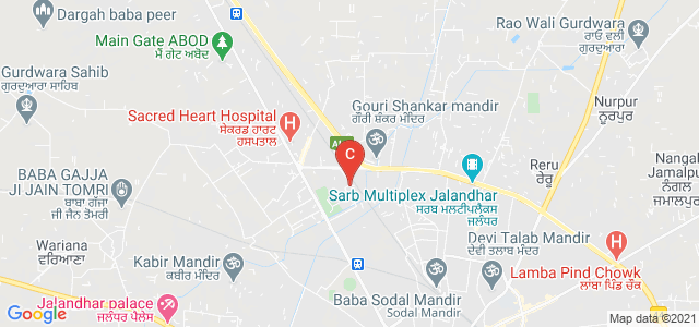 CT INSTITUTE OF MANAGEMENT & IT, Near SECREAT HEART HOSPITAL, Greater Kailash, Maqsudan, Jalandhar, Punjab, India