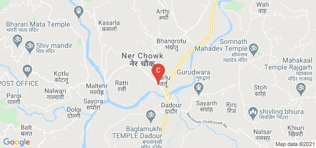 State Highway 13, Ner-Dhanugu, Ner Chowk, Himachal Pradesh, India