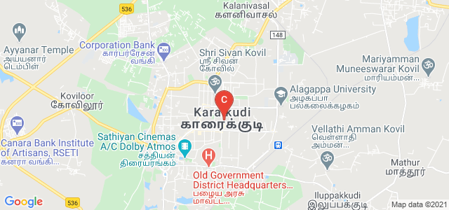 Bharathidasan University Distance Education Centre, 100 Feet Road, Vairavapuram, Karaikudi, Tamil Nadu, India