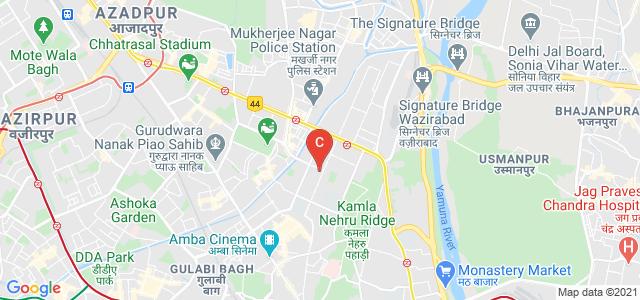 Vallabhbhai Patel Chest Institute, Delhi University, Vijay Nagar Marg, Art Faculty, University Enclave, Delhi, India