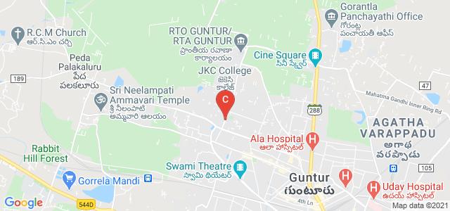 JKC College Road, S.V.N Colony, Navabharath Nagar, Guntur, Andhra Pradesh, India