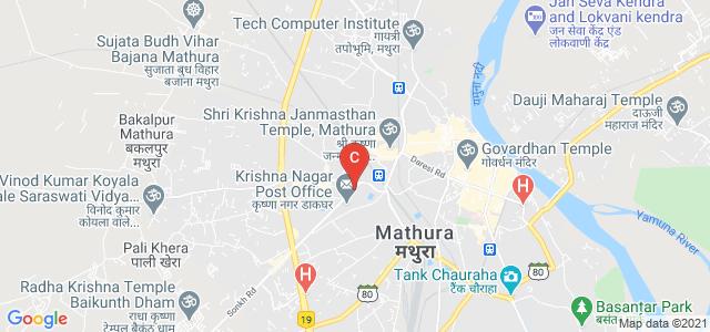 Krishna Nagar ,Mathura, Krishna Nagar, Mathura, UP 281001, India